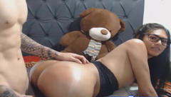 Hot Shemale Fucked Hard and Received Anal Pie