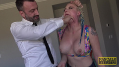 [PascalsSubSluts] 2017-03-01 Leya Falcon - Slut Daughter Comes With The House - Uploaded by R0Xsteady