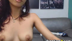College Couple Hot Doggy Sex on Couch