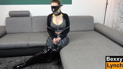 Bondage Escape Challenge Level IMPOSSIBLE - Bexxy in Cruel Bondage Torture