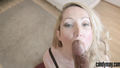 Candy May - Nice Blonde Receives Big Load