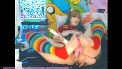 BabyZelda Hermione CREAMIEST Foot Fuck Gushing 3 in private premium video