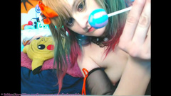 BabyZelda Asian Princess Lollipop In Teen Pussy 3 in private premium video