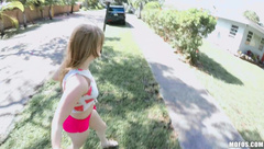 Teens - Dolly Leigh Stealing From The Easter Bunnys Bas
