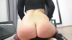 Sexy Teen PAWG facesitting