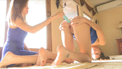 Bass Twins FTVGirls   2014.05.23   The Twins Sexy Nature 02 in private premium video