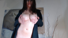 Andreza - Sweet Teen Teen Doing Anal With Oil in private premium video