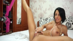 anisyia livejasmin big tits big ass fingering tight pussy doggy private