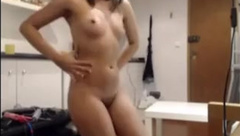 Petite girl pussy popping for the camera Snapchat: itzkatebish