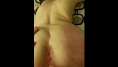 Drunk tinder date fucked branded and cum blasted