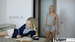 Tushy - Step Sisters Karla Kush And Zoey Monroe First A