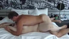 Creampie her fat pussy