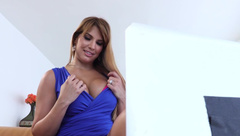 Mercedes Carrera - Her Hubby Watches Them From Webcam