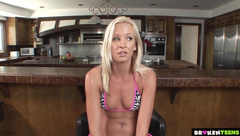 BrokenTeens - Otto Bauer Blonde Model can t resist to a