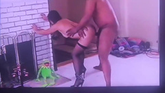 Kermit And Hubby Watch Wife Cuck