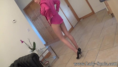 Lady-Sonia - Lady Sonia Layered Pantyhose And Nylons