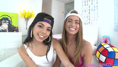 Gina Valentina - [Swallowed] - Jill And Gina In A Slopp