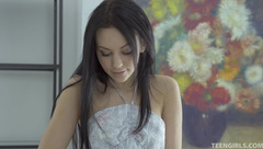 Teengirls - Nora Dainty little teen Nora in perfect sol
