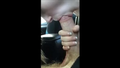 MY SISTER BLOWJOB IN CAR