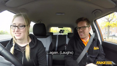 FakeDrivingSchool - Satin Spark - Giggly Marketing Stud