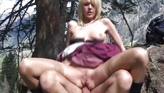 german MILF anal in the mountains