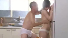 Young wife fucked by old man next door