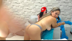 missnileyhot & friend April-19-2018 part 6