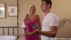 NaughtyAmerica - Puma Swede - In Bed With Horny MILF