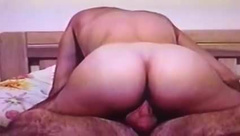 Blonde ex wife milf rides on top