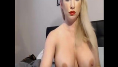 Short clip busty blonde