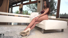 FootsieBabes -   Alyssia Kent - Licking Cum Off My Toes
