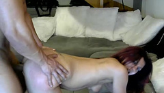 couple french BJ facial  Muscle framboise part.4