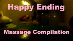 Happy Ending Compilation: 8 handjob scenes at the same massage parlor