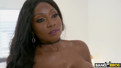 BrownBunnies-Diamond Jackson Protects Her Home