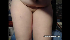 Pretty Hot Huge Natural Tits Curvy Fucks Herself And Sq