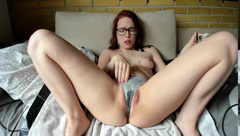HANDS FREE ORGASM #2 | EYECONTACT | SHOWING PUSSY WHILE CUMMING
