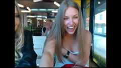 Webcam Two Russian In A n Restaurant Show Something