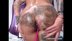 Dirty Blonde Anal Fingering Sexy Tight Asshole Play