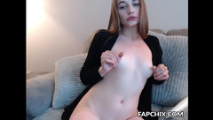 Shameless Shaved Ravages Her Vagina With The Hitachi