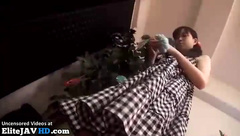 Japanese sexual massage with super cute teen