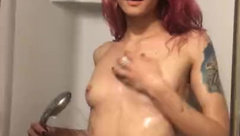 OhMyHarvest aka Lana Hot Baby need a Shower after Sex