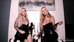 Violet Doll and Stella Sol - Double CBT