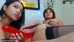 Two hot latinas on CB