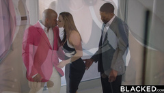 BLACKED Kendra Lust Fucking Two BBC's