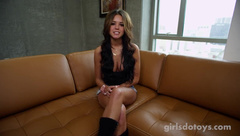 Hot busty Miss Teen Colorado in her first solo porn video