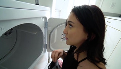 Step sister surprise creampie fucked by brother