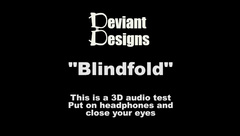 Blindfold - a femdom themed 3D audio (Binaural) test
