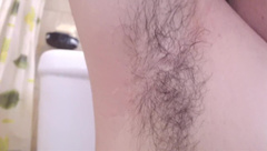 Beautiful hairy armpits - Do you want to smell it?