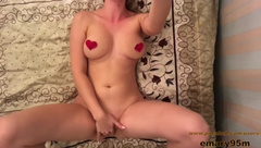 Self recorded masturbation with the ring on my finger