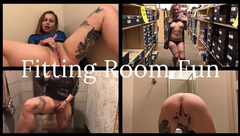 Flashing and Fitting Room Fun at a Mall - IdeallyNaked